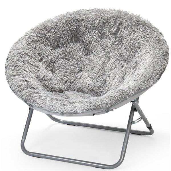 Ackerly Faux Fur Papasan Chair by Three Posts Teen Three Posts Teen