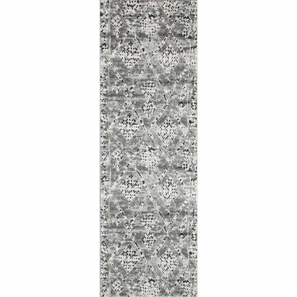 Dunnigan Dark Gray Area Rug by Bloomsbury Market