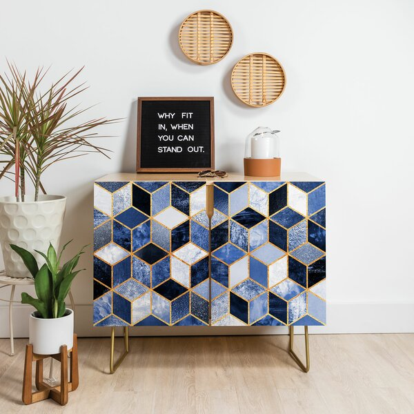 Elisabeth Fredriksson Cubes Birch Accent Cabinet by East Urban Home