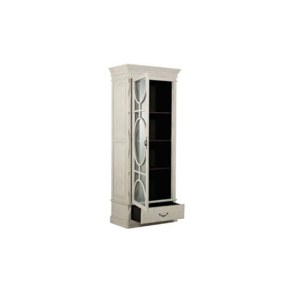 Rheet Left Hand Door Swing Single China Cabinet by Gabby