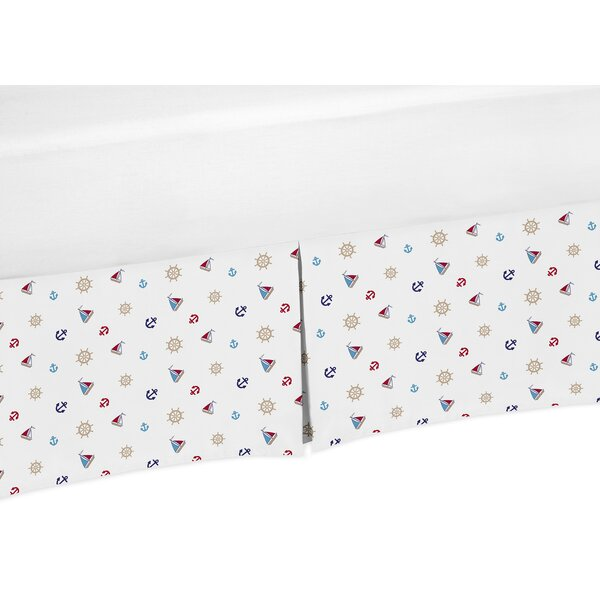 Nautical Nights Print Crib Skirt by Sweet Jojo Designs