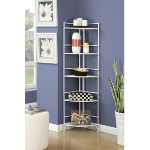 Inexpensive Hockensmith 5 Tier Folding Corner Unit Bookcase By Zipcode Design
