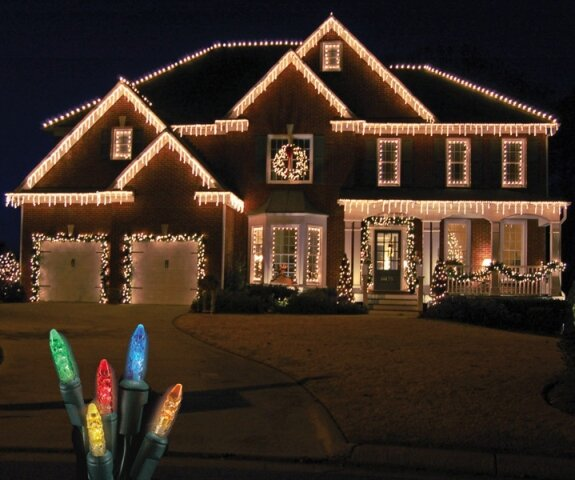70 Light LED Icicle Light by The Holiday Aisle