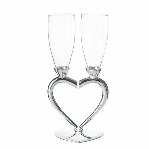 Wedding Toasting Flute Glass (Set of 2) by Weddingstar