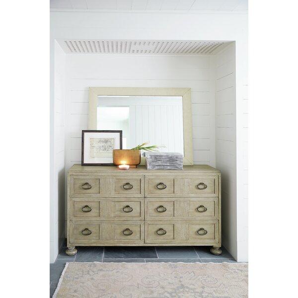 Santa Barbara 6 Drawer Double Dresser With Mirror By Bernhardt by Bernhardt Coupon