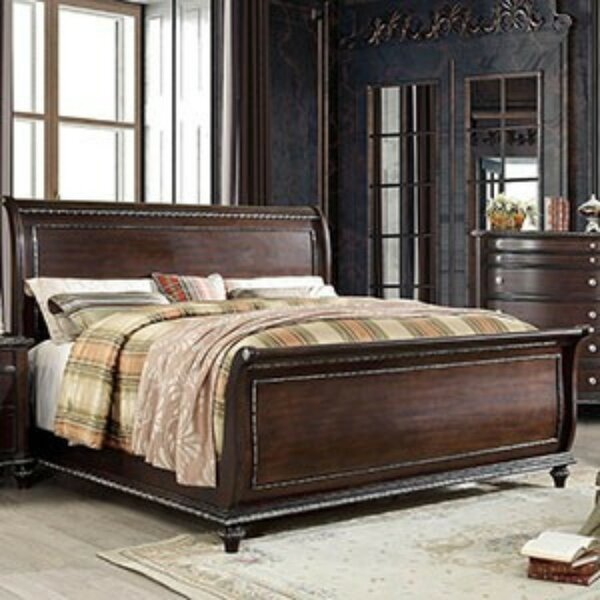 Benham Sleigh Bed by Darby Home Co