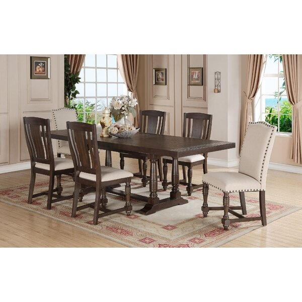 Fortunat 7 Piece Extendable Dining Set By Laurel Foundry Modern Farmhouse