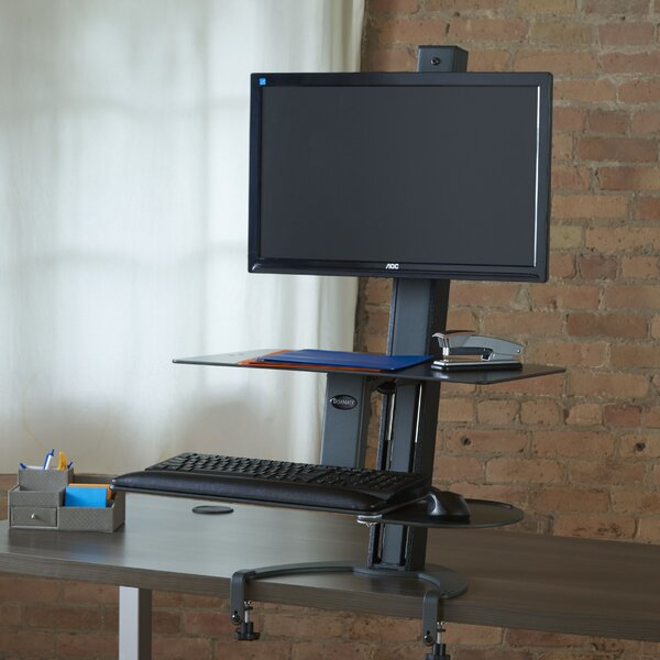 TaskMate Go Height Adjustable Workstation by Health Posture