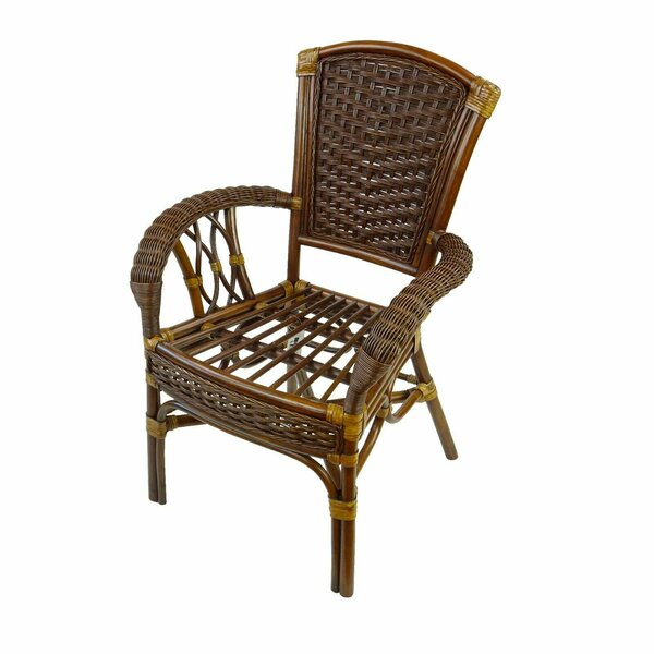 Chattahoochee Stacking Arm Chair By Bay Isle Home