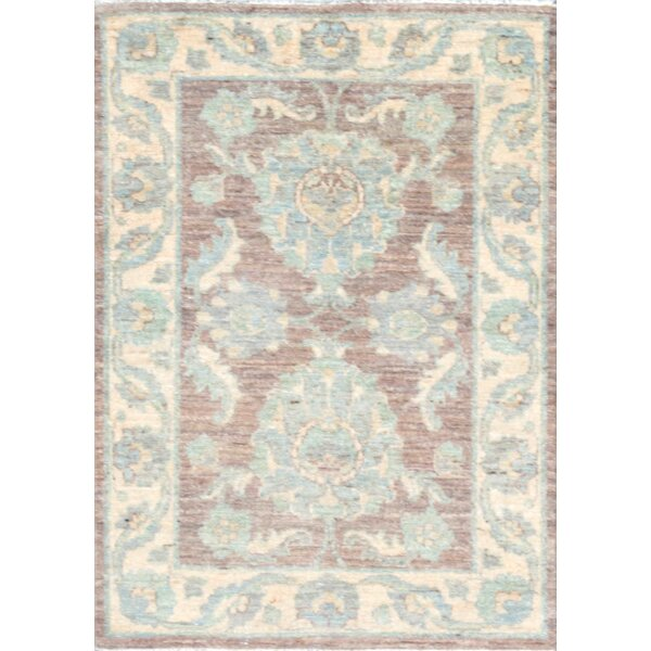 Ferehan Hand-Knotted Brown Area Rug by Pasargad