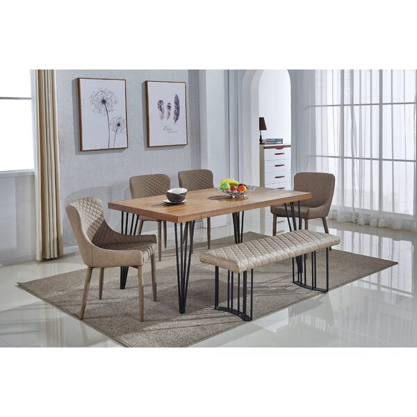 Dupont 6 Piece Dining Set by Mercury Row