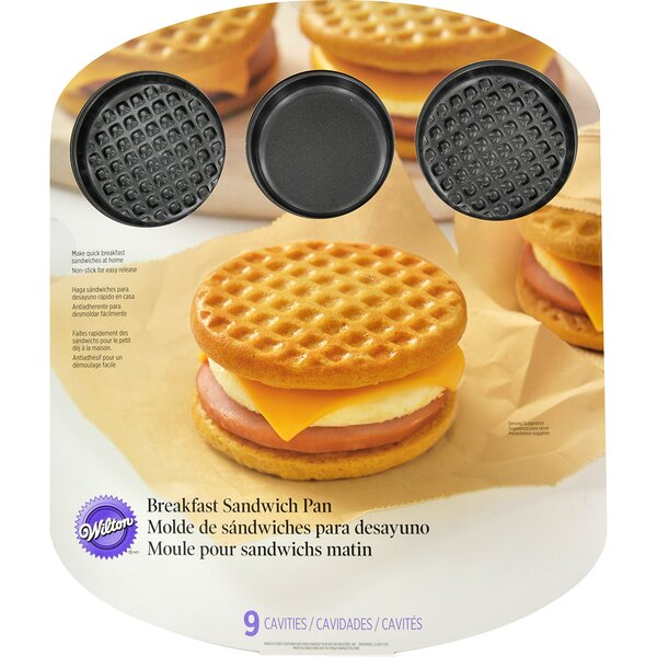 Breakfast Sandwich Pan by Wilton