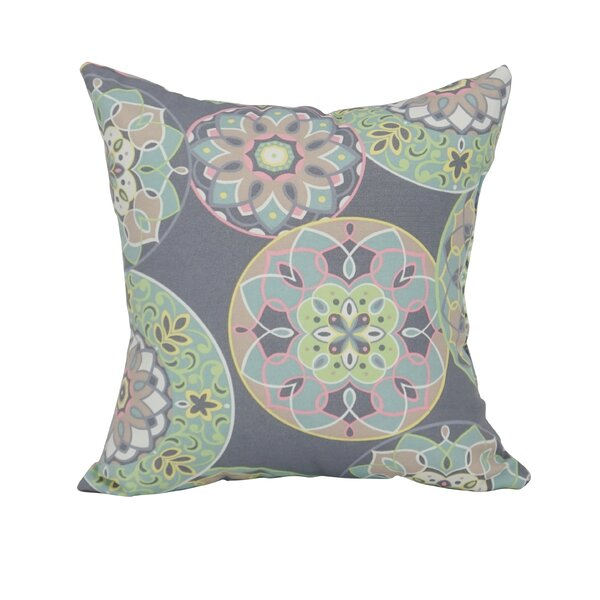 Etkin Indoor/Outdoor Floral Throw Pillow (Set of 2)