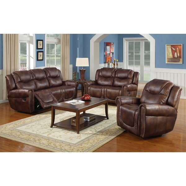 Alianna 3 Piece Reclining Living Room Set by Red Barrel Studio