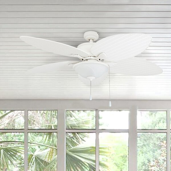 52 Alexander Outdoor 5 Blade Outdoor LED Ceiling Fan by Bay Isle Home