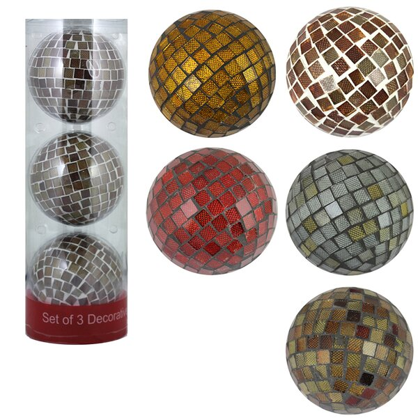 Catherine Mosaic Ball Vase Filler (Set of 6) by World Menagerie
