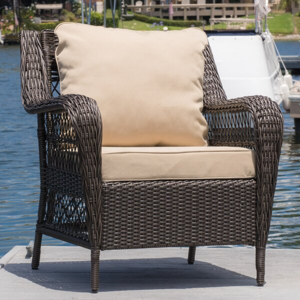 Perkins Chair with Cushion by Charlton Home