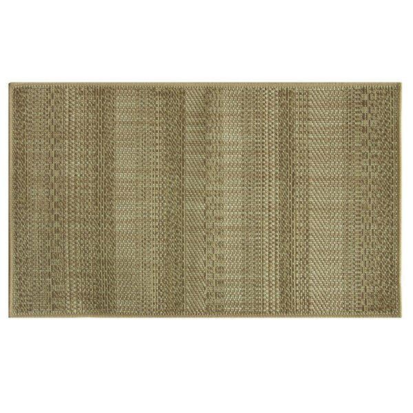 Natural Brown Area Rug by Bacova Guild