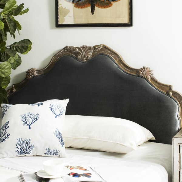 Amott Full Upholstered Panel Headboard by One Allium Way