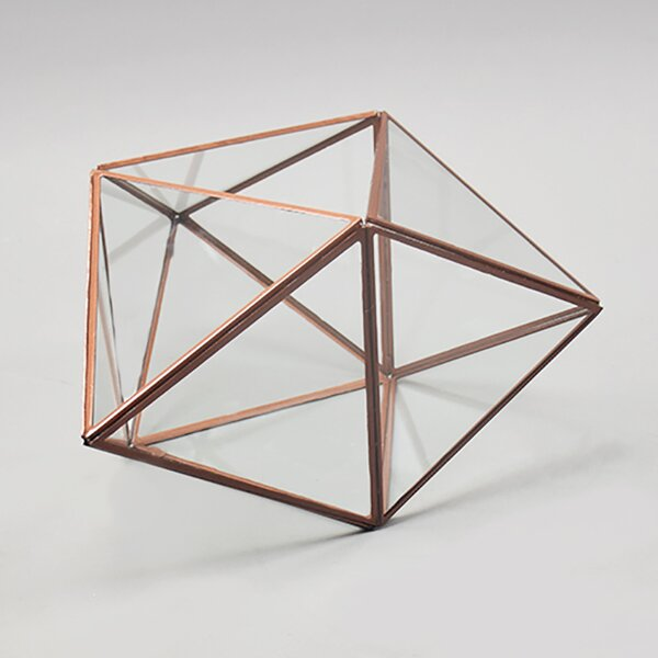 Geometric Glass Terrarium by Vasesource