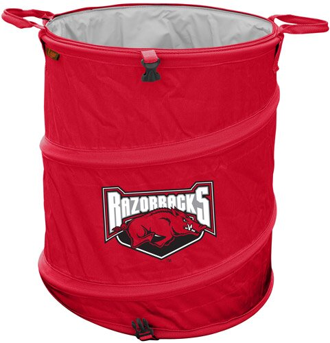 Collegiate Trash Can - Arkansas by Logo Brands