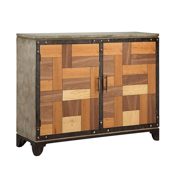 Alayna 2 Door Accent Cabinet by 17 Stories