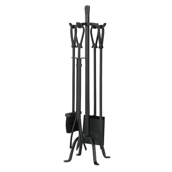 5 Piece Olde World Iron Fireplace Tool Set by Uniflame Corporation