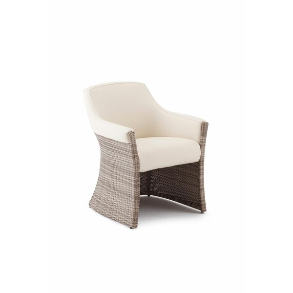 Sheri Patio Dining Chair with Cushion by Canora Grey