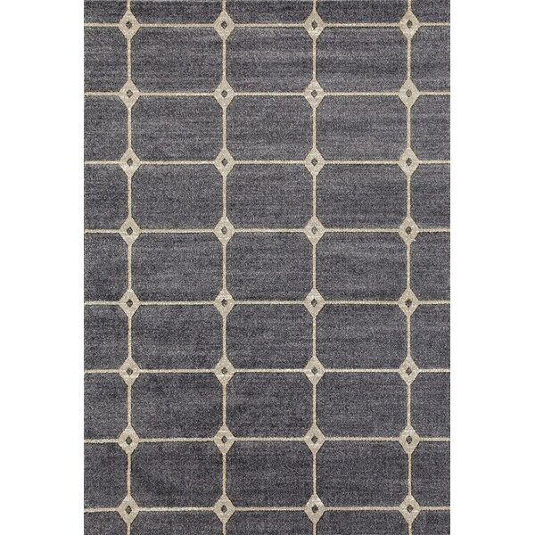 Emmaline Gray Indoor/Outdoor Area Rug by Zipcode Design