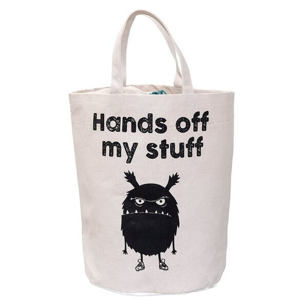 Woolsey Monster Laundry Bag by Harriet Bee