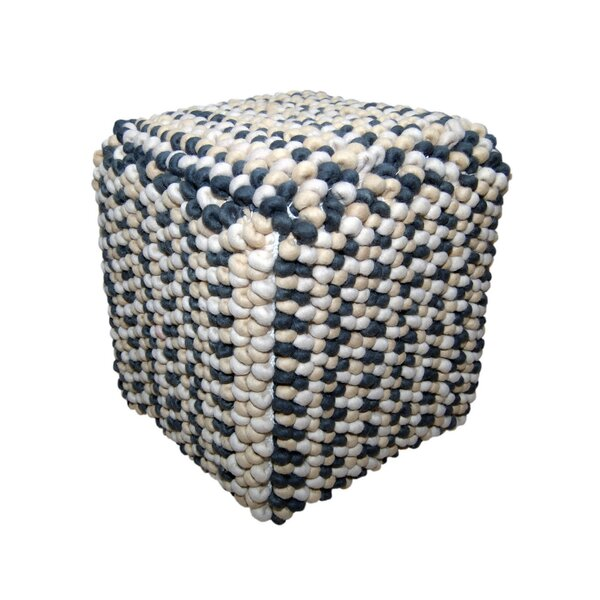Sheringham Pouf by Bungalow Rose Bungalow Rose