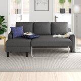 Charcoal Gray Sectional Sofa   Wayfair