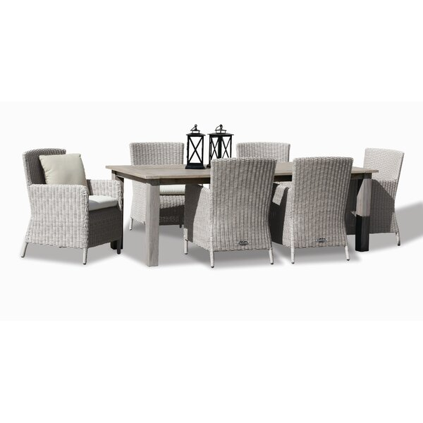 Manhattan 7 Piece Dining Set by Sunset West
