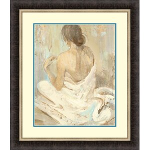 Abstract Figure Study II by Albena Hristova Framed Painting Print by Tangletown Fine Art