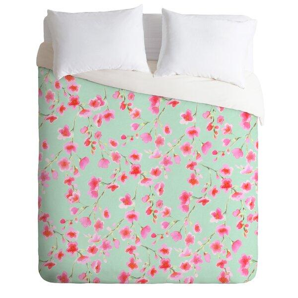 Cherry Blossom Duvet Cover Set by East Urban Home