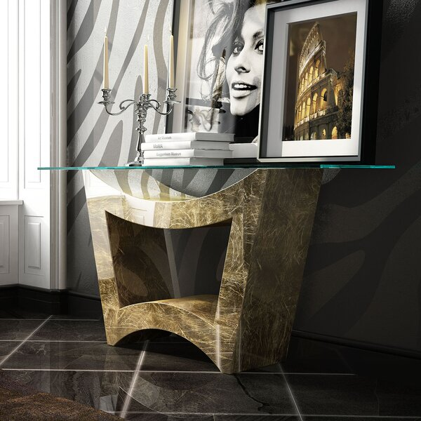 Koski Console Table by Everly Quinn Everly Quinn