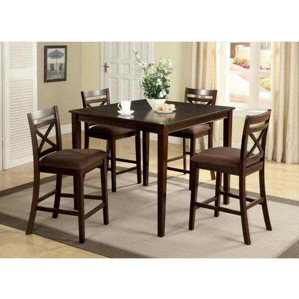 Looking for Pires 5 Piece Pub Table Set By Charlton Home Savings