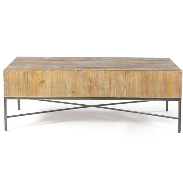 Carly Reclaimed Wood Coffee Table by Williston Forge