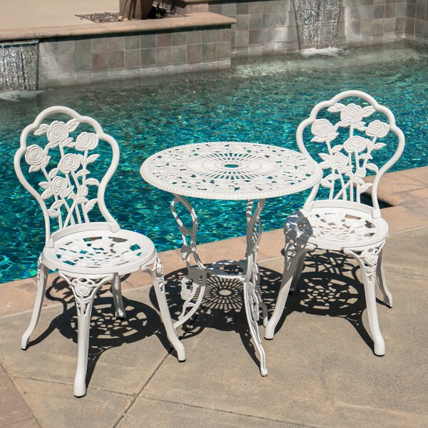 3 Piece Bistro Set by Belleze
