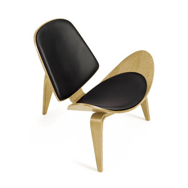 Carothers Tripod Plywood Arching Lounge Chair By Corrigan Studio