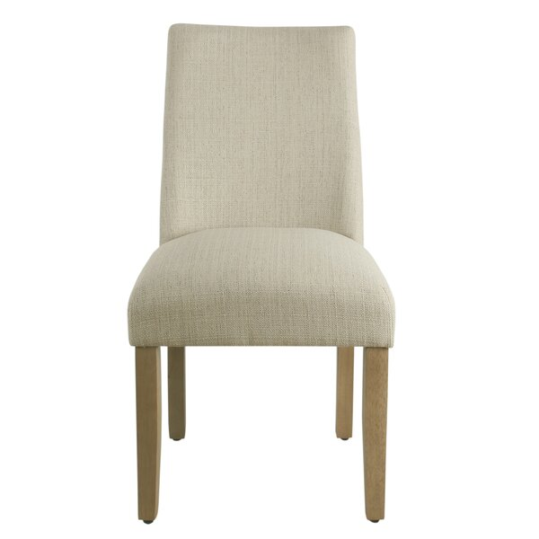 Barnabas Curved Back Upholstered Dining Chair by Highland Dunes