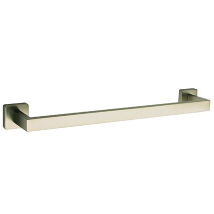 Square 18 Wall Mounted Towel Bar by LaToscana