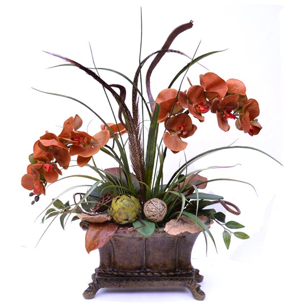 Phalenopsis Faux Orchid Design by Floral Home Decor
