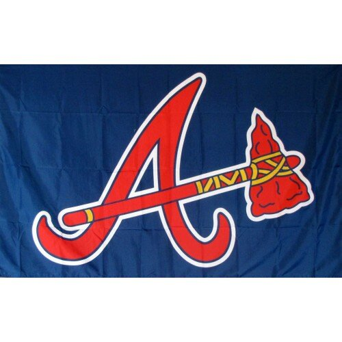 Atlanta Braves A Polyester 3 x 5 ft. Flag by NeoPlex