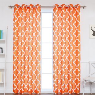 Moroccan Orange Curtains