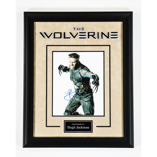The Wolverine  Framed Autographed Photograph by LuxeWest