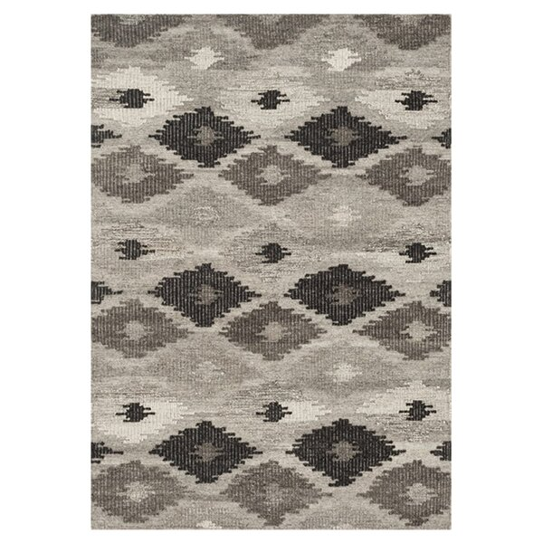 Bentleyville Gray/Charcoal Area Rug by Foundry Select
