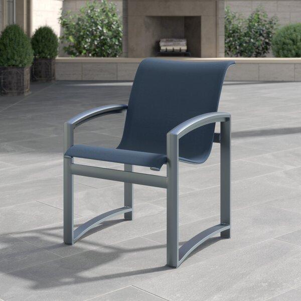 Metropolis Sling Patio Dining Chair by Woodard