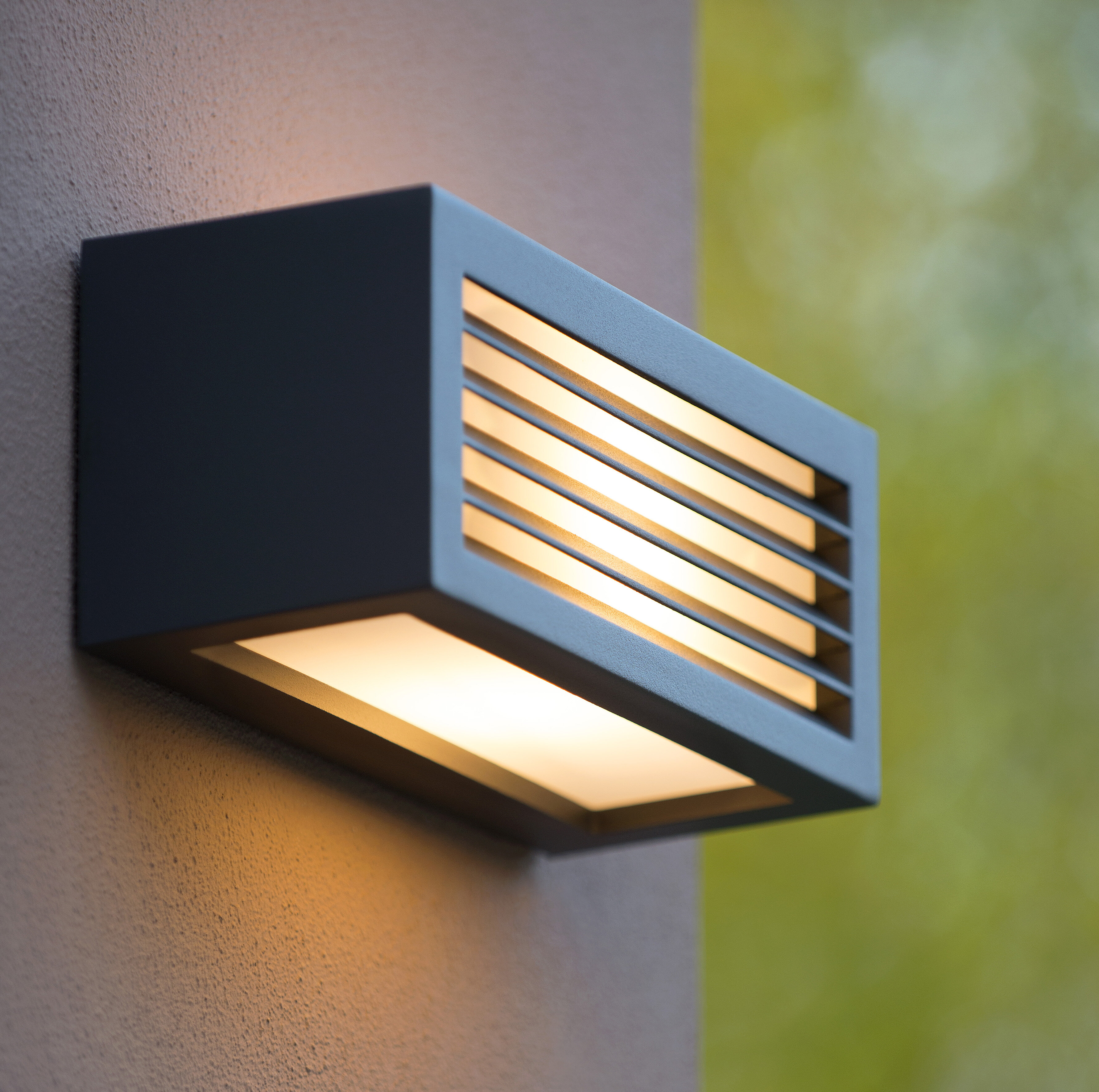 Lucide Dimo 1 Light Outdoor Wall Sconce