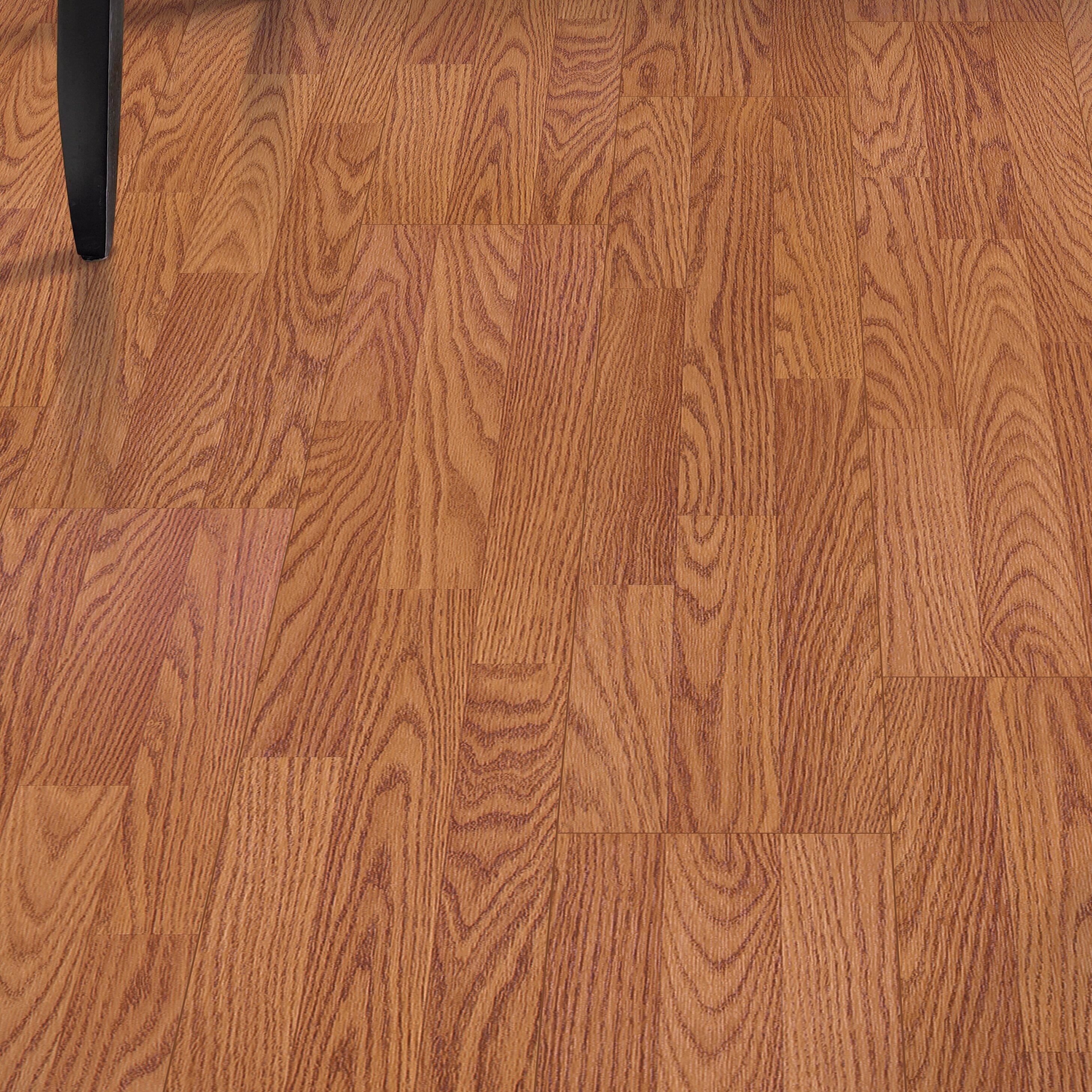 Mohawk Fieldview 8 X 47 7mm Oak Laminate Flooring In Butterscotch